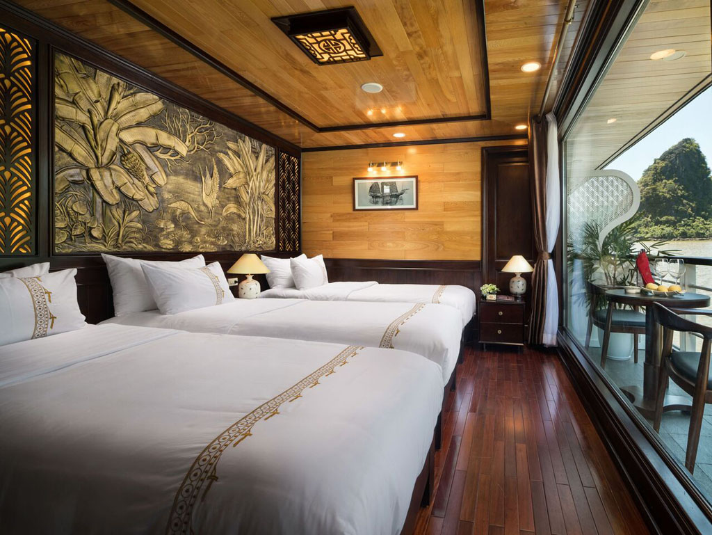 Triple Room on Perla dawn sails