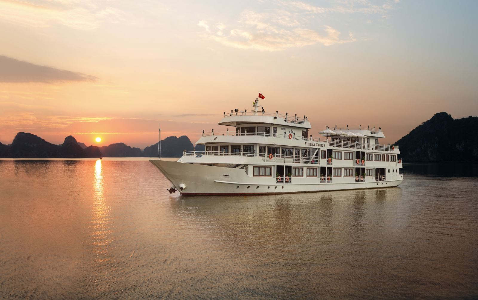 Overview of halong athena cruise