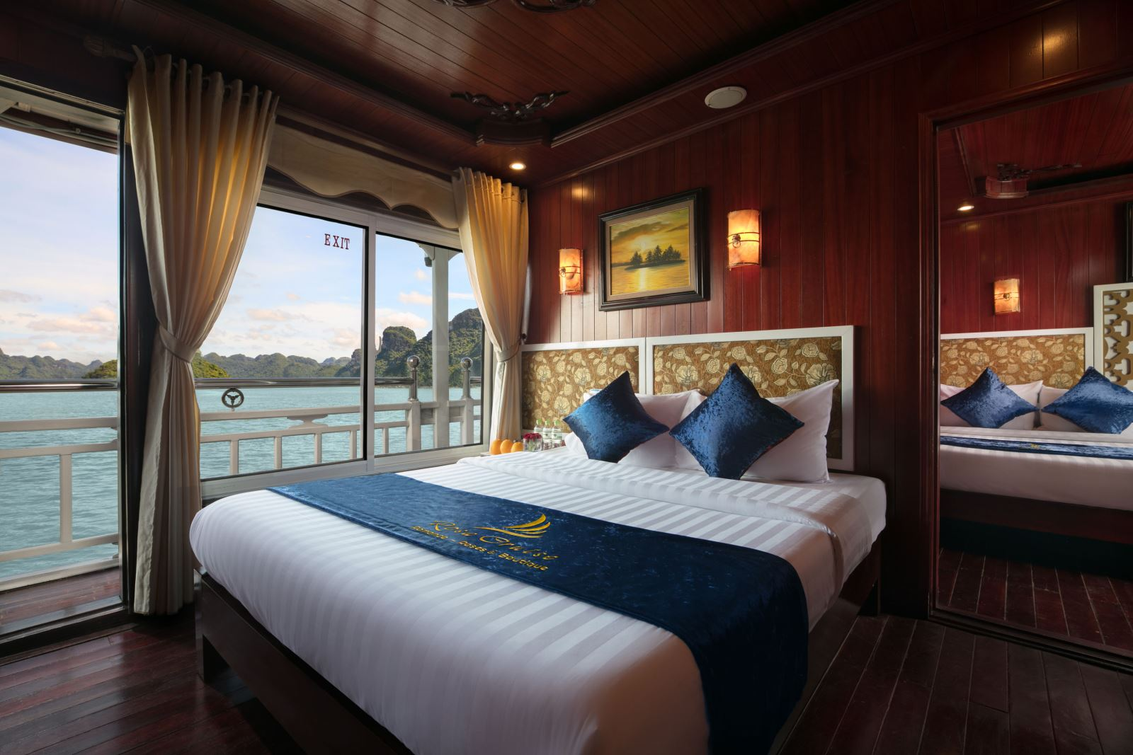 Halong rosa boutique cruise - deluxe oceanview