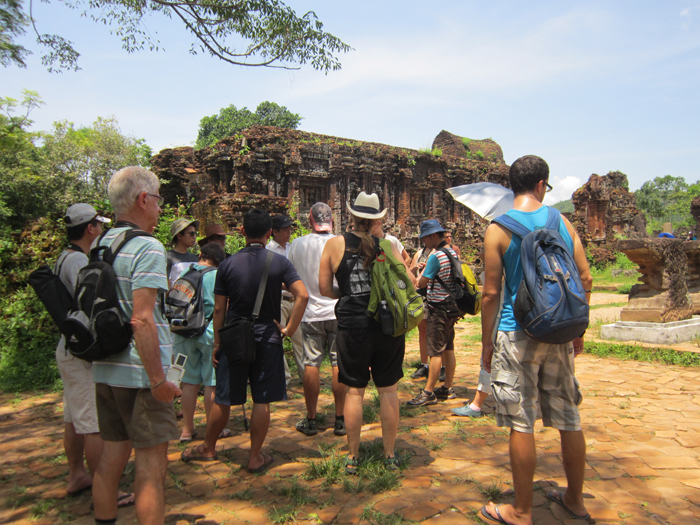 My Son Holly Land Day tour in Hoi An