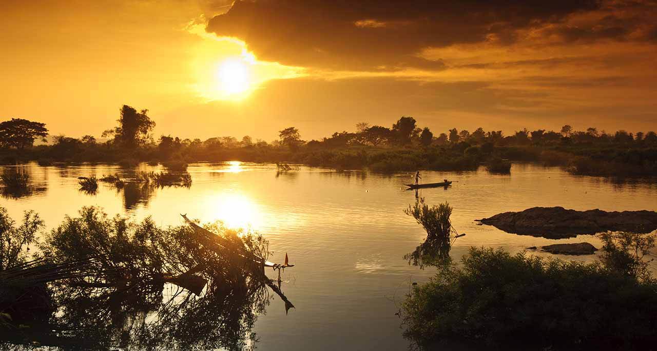 The world Heritage Site 9 Days Package tour in Laos