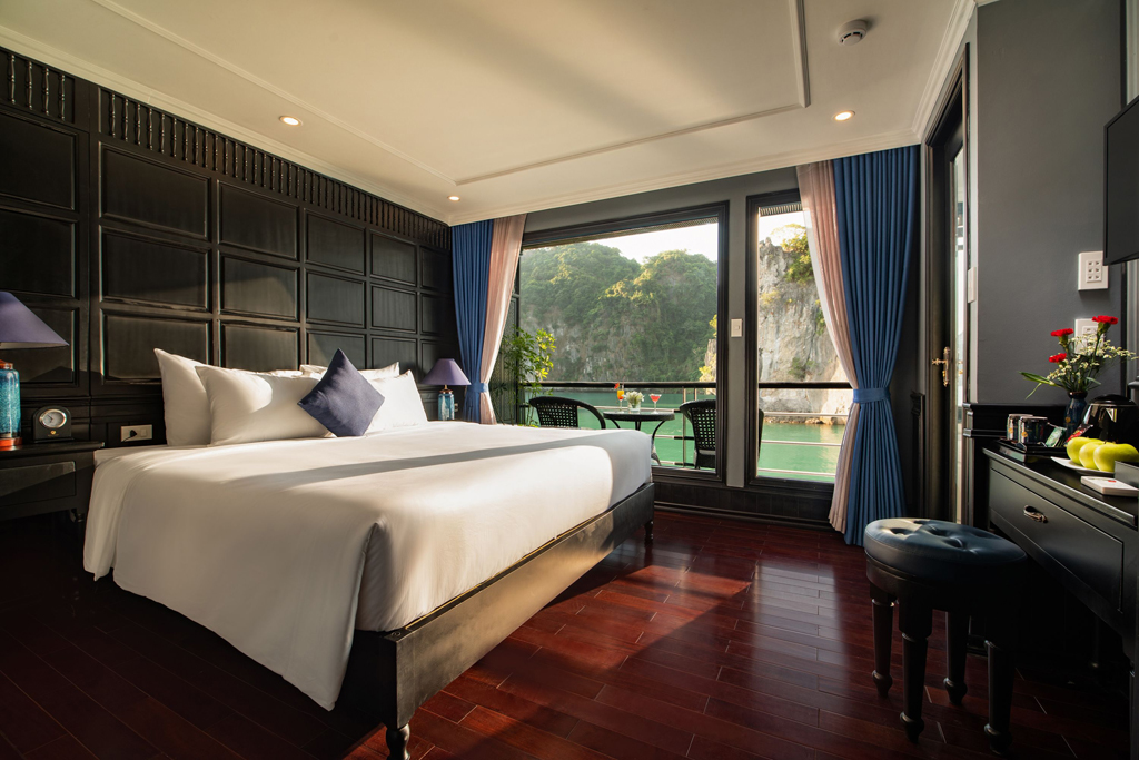 Halong rosy cruise - double room