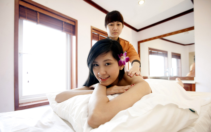 halong huong hai sealife cruise - massage services
