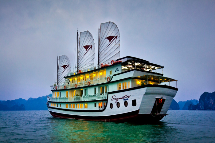 Overview of Halong signature cruise