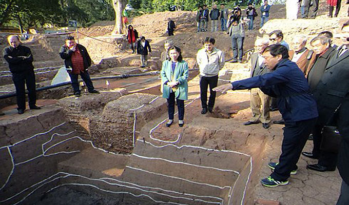 More archaeological relics uncovered at Kinh Thien Palace