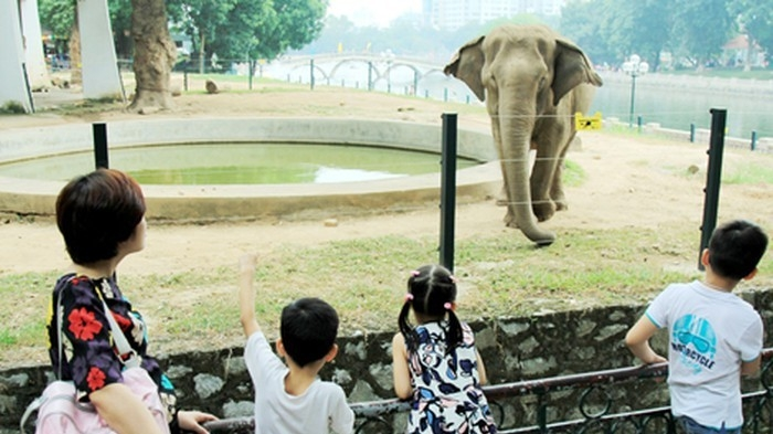 Ha Noi Zoo recognised as tourist site