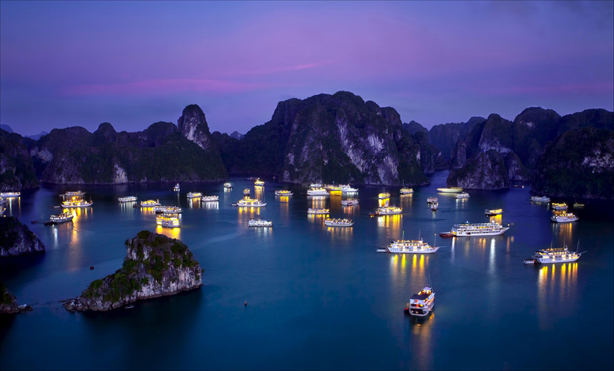 Halong Bay: A journey into the dragon's jaws