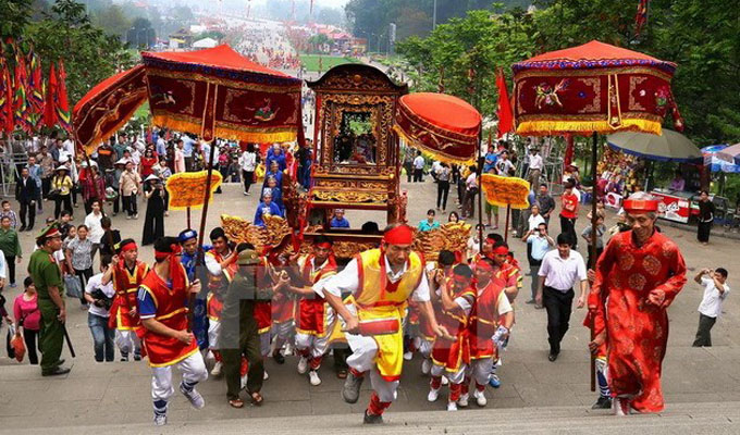 Phu Tho prepares for an epitomised Hung Kings Temple Festival