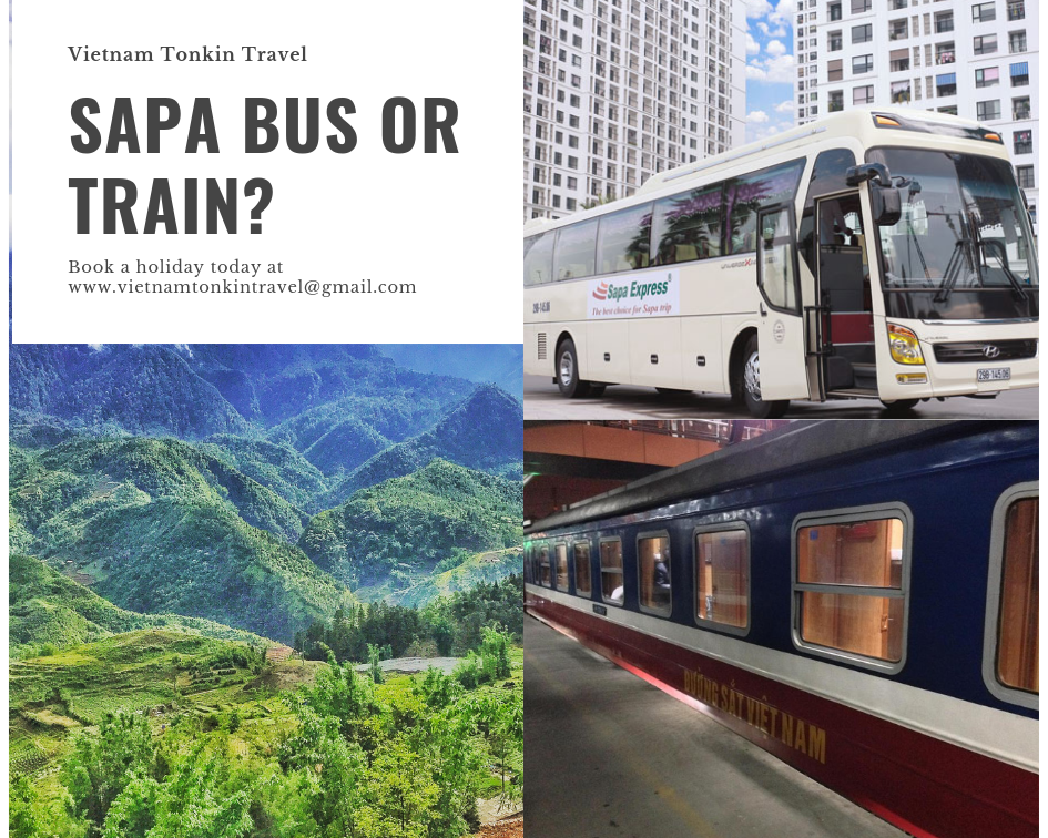 2020 Sapa package tours from Hanoi: bus or train?