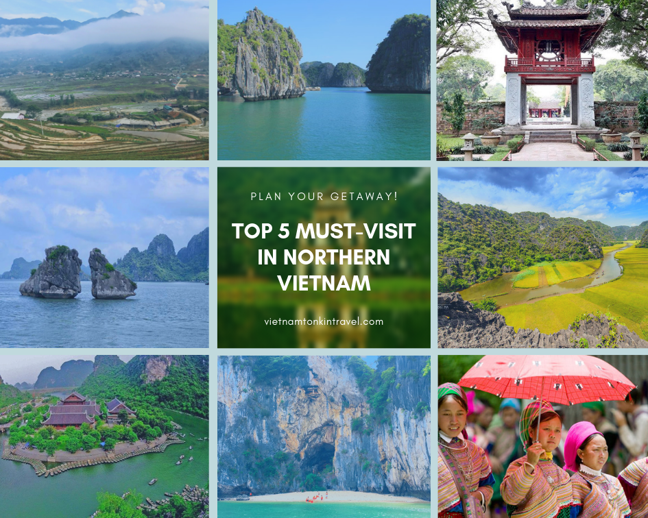 Top 5 must-visit in the North when first traveling to Vietnam 2020