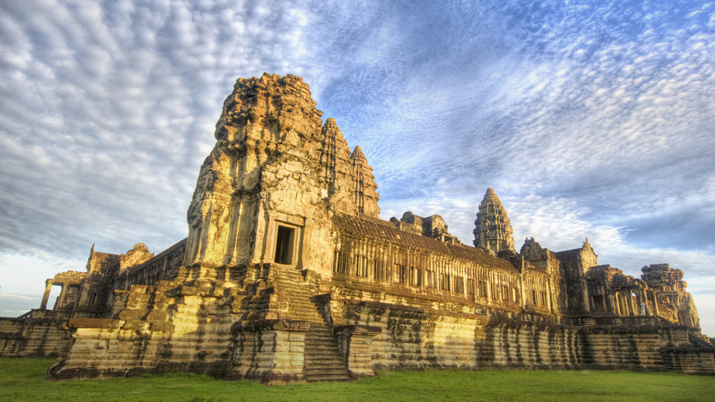 Ankor Wat in Cambodia