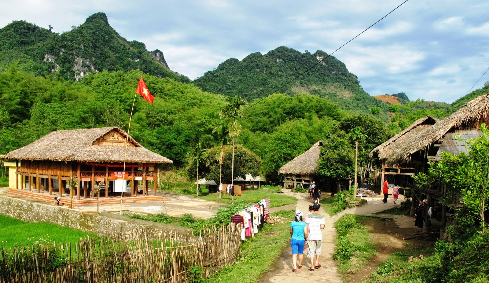 Lac Village in Hoa Binh Vietnam