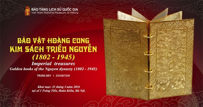 Nguyen Dynasty's gold books to be showcased in Ha Noi