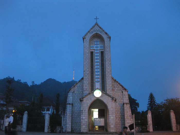 Stone Church of Sapa Sapa Vietnam