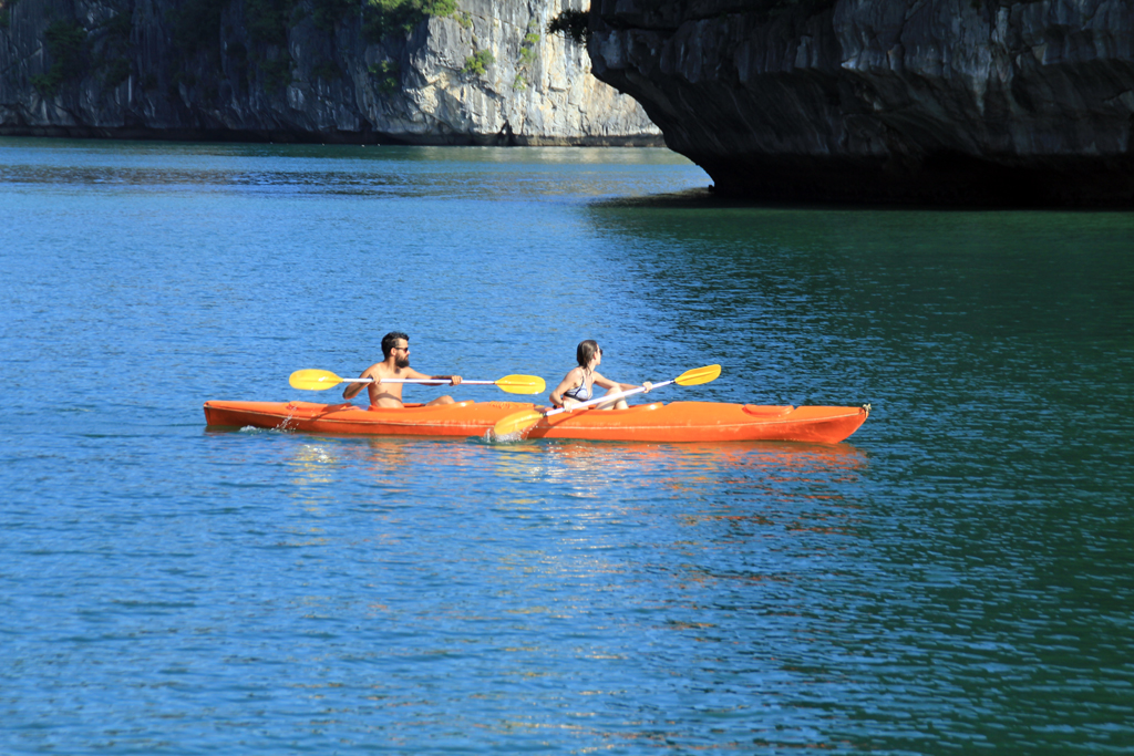 Lan Ha Legend & Cat Ba island Package in 6 Days - FROM 339 USD