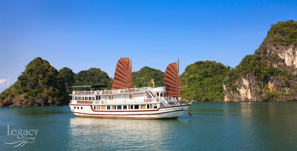 Halong Legacy legend cruise & Hanoi package in 5 Days - FROM 320 USD