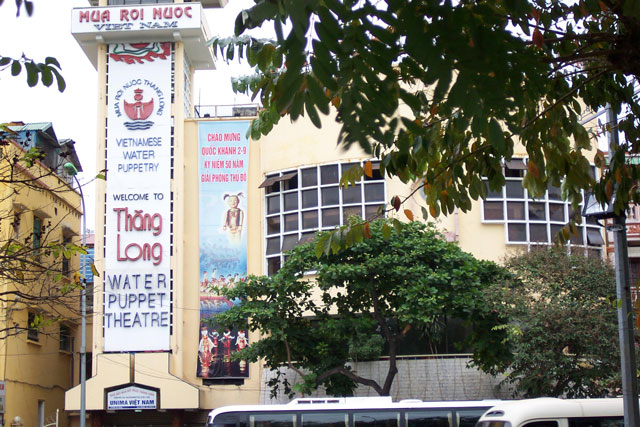 Thang Long Water Puppet Theatre Ha Noi