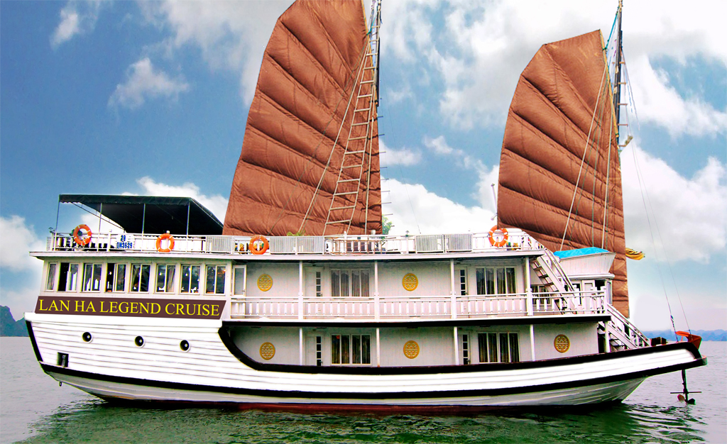 Lan Ha Legend Cruise & Hanoi Package In 5 Days - FROM 269 USD