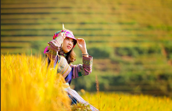 Thac Ba lake & Mu Cang Chai trekking tour in 5 days